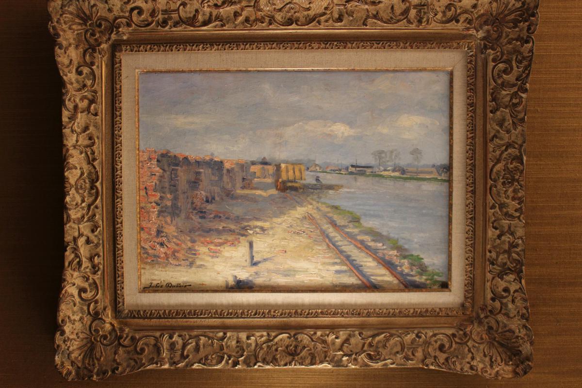 Huile sur toile  Jules Dubois