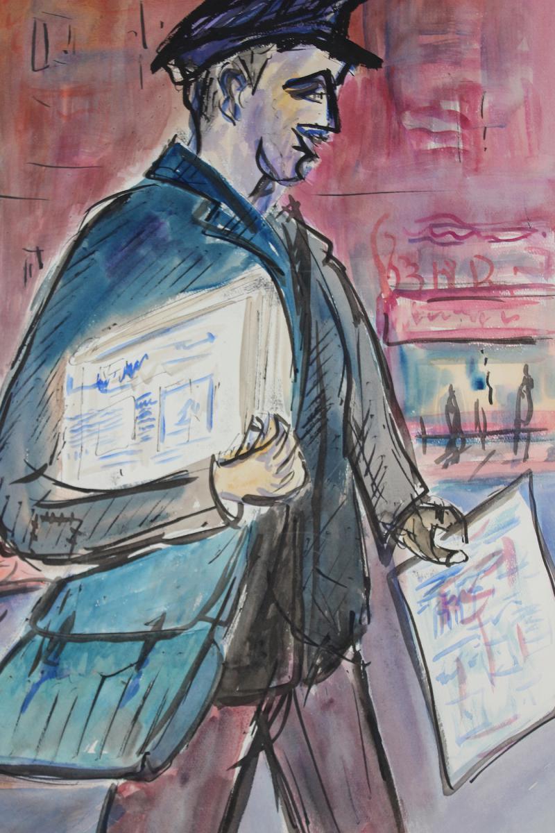Watercolor R. Dubuc
