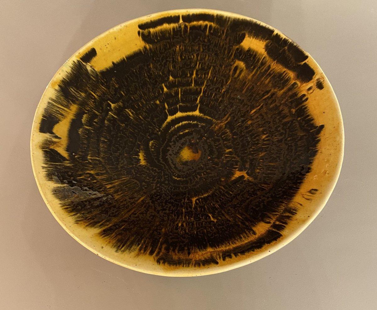 Plat en céramique de Jean Besnard-photo-2