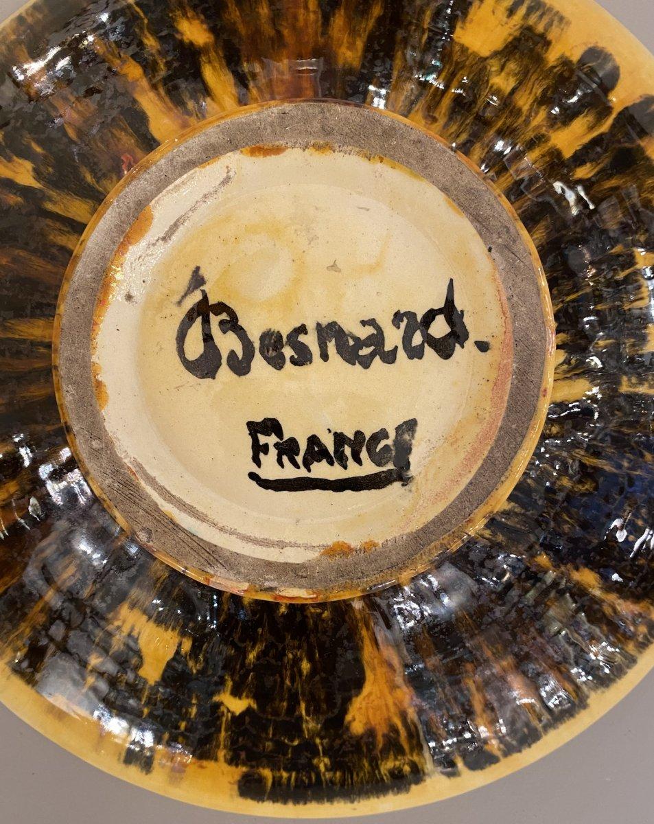 Plat en céramique de Jean Besnard-photo-3
