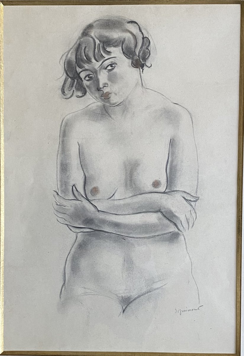 Drawing André Dignimont