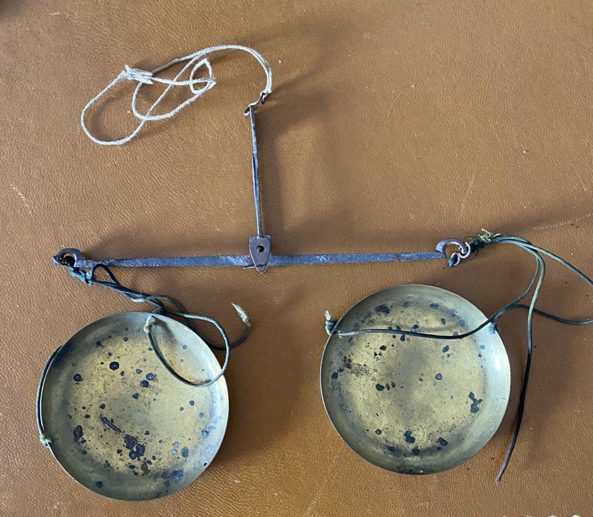 Balance Trébuchet 19ème-photo-2