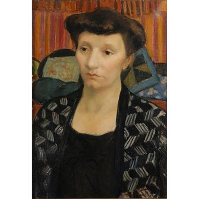 Portrait féminin Laure Varcollier 1933