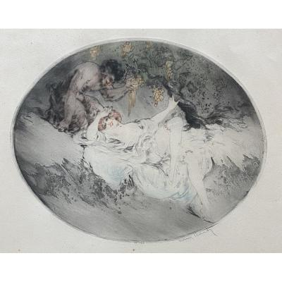 Etching Louis Icart