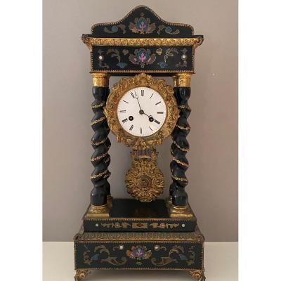 Napoleon III Column Clock