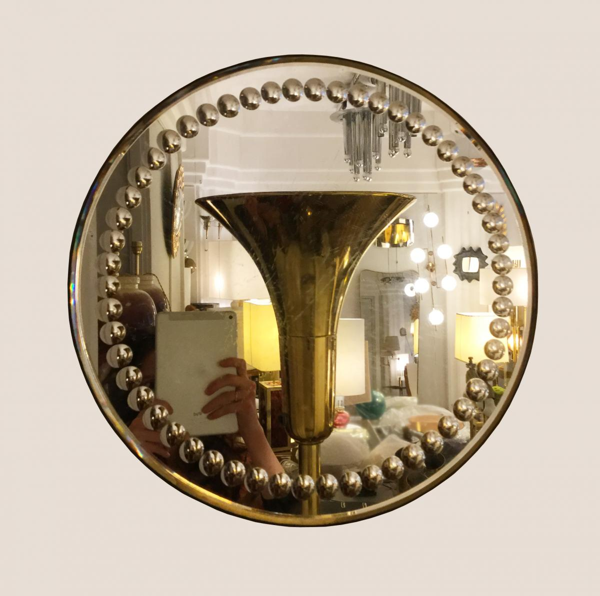 Miroir à Bordure De Mini Sorcières