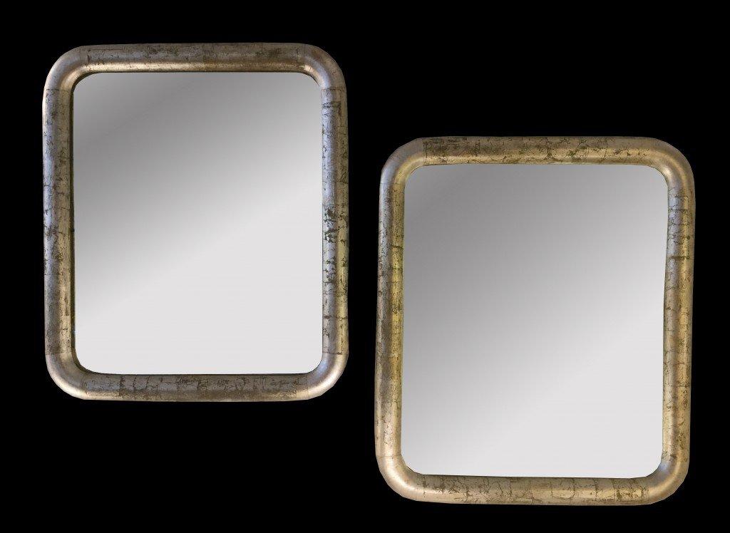Paire De Miroirs Période Art Déco