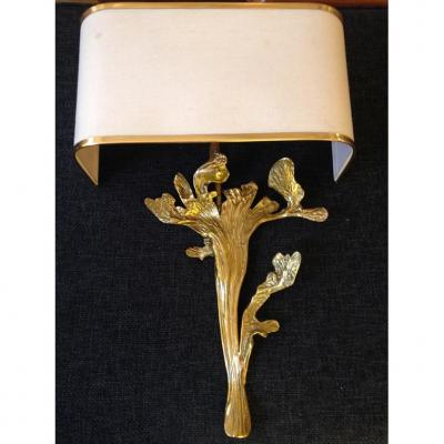 Bronze Solo Wall Sconce