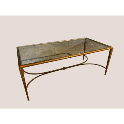 Golden Ramsay Iron Coffee Table Maison Ramsay