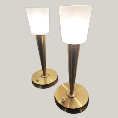 Pair Of Perzel Lamps