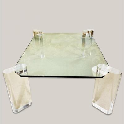 Plexiglas Coffee Table