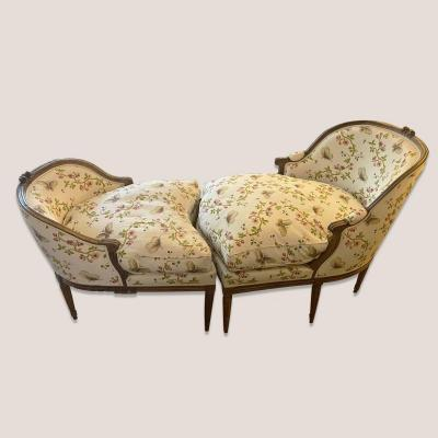 Broken Duchess Or Chaise Longue, Louis XVI Period