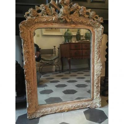 Mirror In Golden Wood XVIII Eme