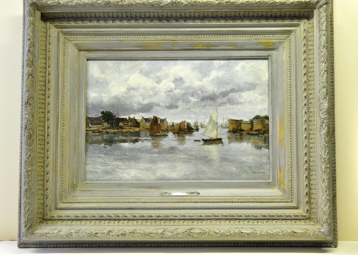 Emile Vernier, Le Passage Lanriec, Concarneau