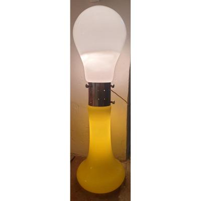 Yellow And White Double Light Bowl Lamp