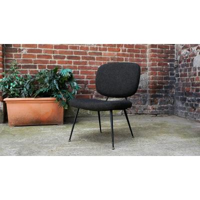 Vintage Fireside Chair, 1950s, Dlg Pierre Paulin
