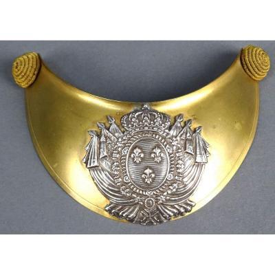Hausse Col D'officier D'infanterie De La Garde Royale. Epoque Restauration