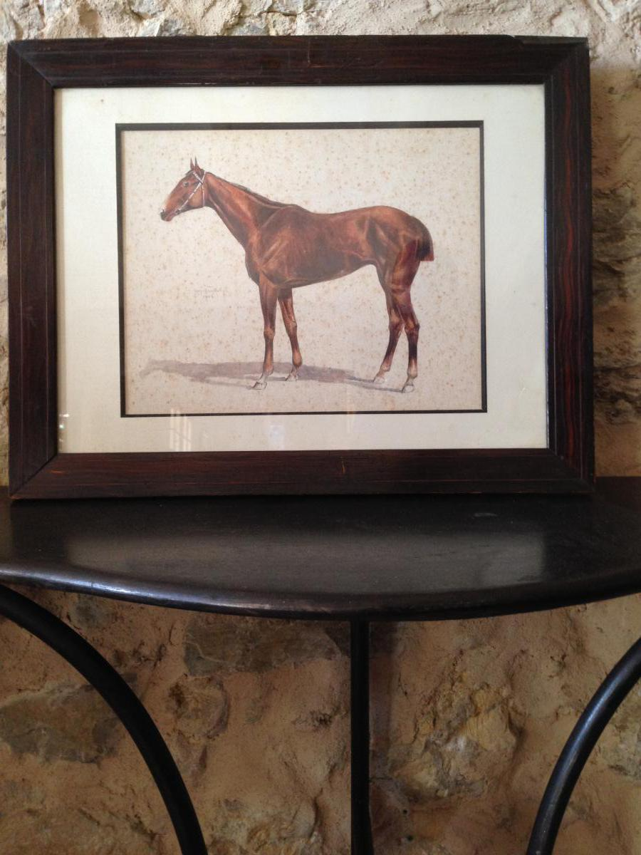 Peinture Equestre