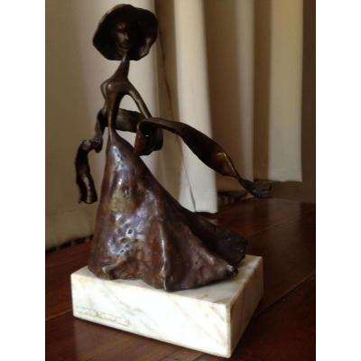 Girl In Bronze