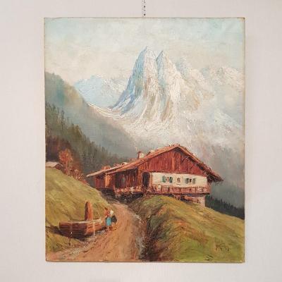 Tableau De Montagne