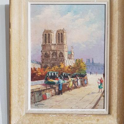 Tableau notre dame de Paris