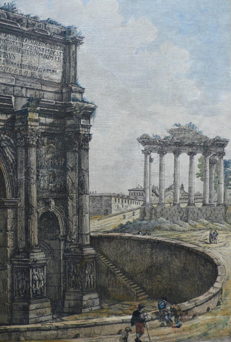 18th Rome Architecture Engraving-photo-1