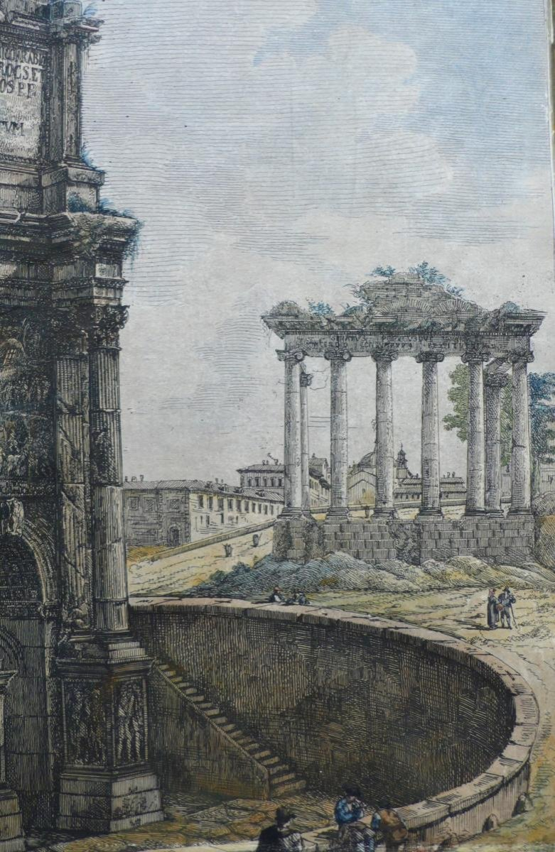 18th Rome Architecture Engraving-photo-2