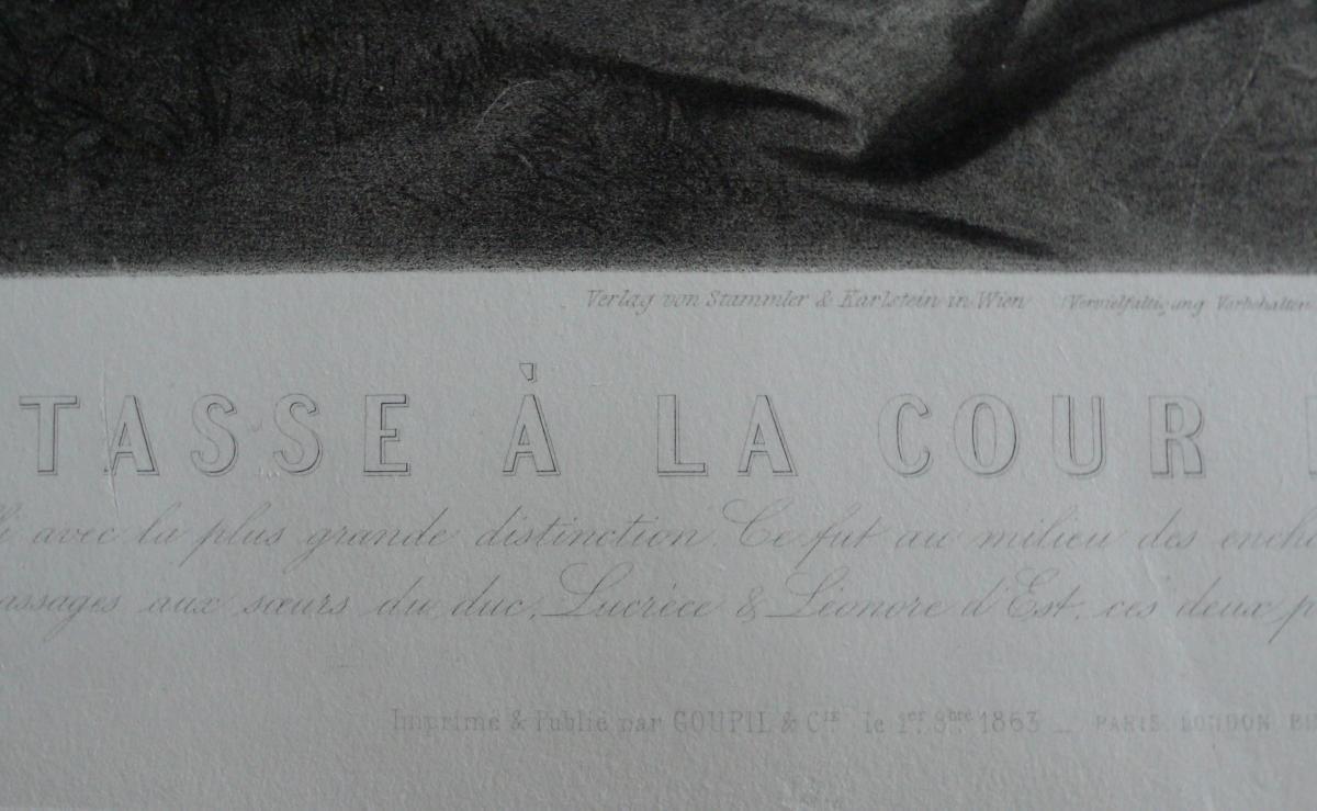 Grande Gravure Historique 19ème-photo-2