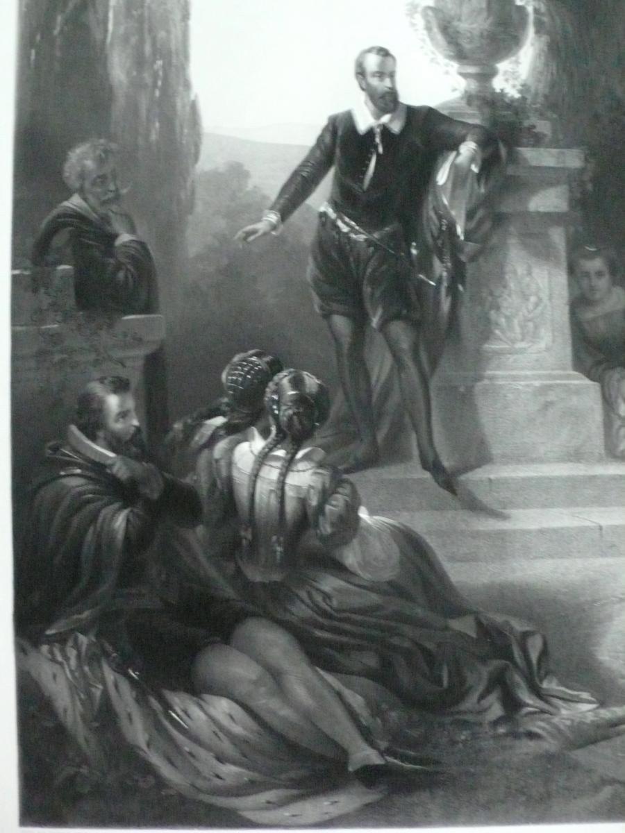 Grande Gravure Historique 19ème-photo-4