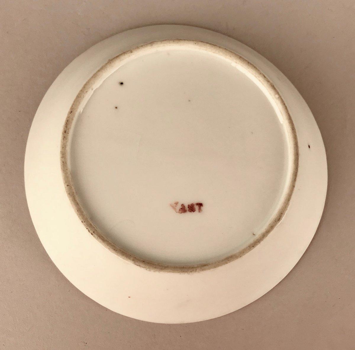 NAST. Tasse En Porcelaine XIXème siècle-photo-1