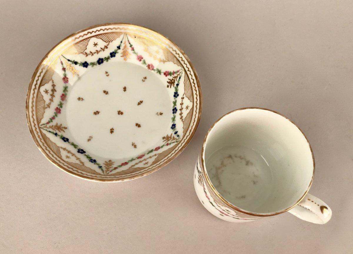 NAST. Tasse En Porcelaine XIXème siècle-photo-5