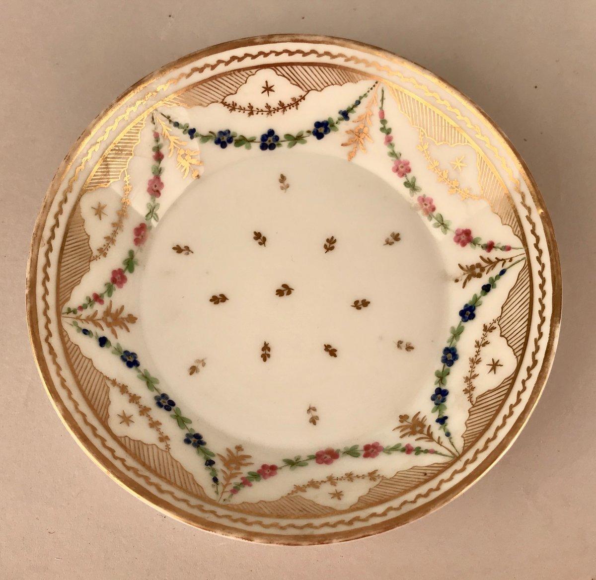 NAST. Tasse En Porcelaine XIXème siècle-photo-6