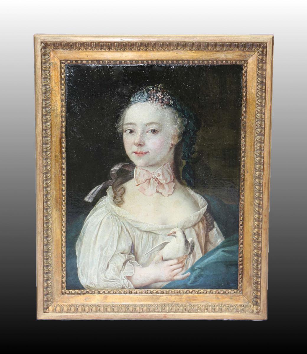 Ecole Française D'époque XVIIIème