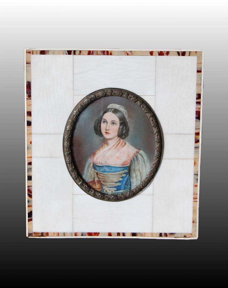 Portrait D'helene Sedlmayr (1813 - 1898)
