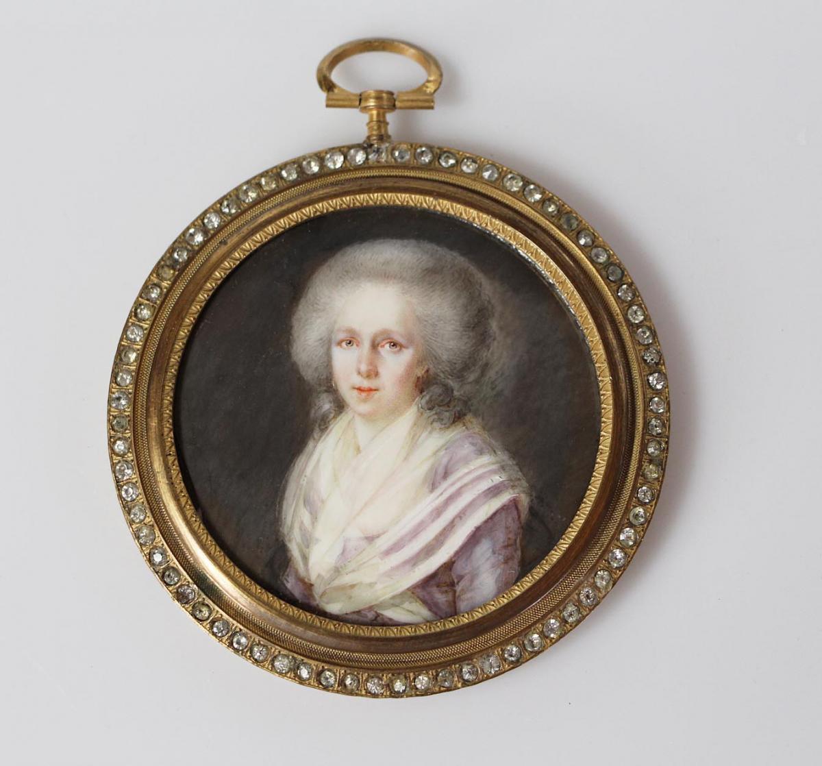 Miniature XVIIIème