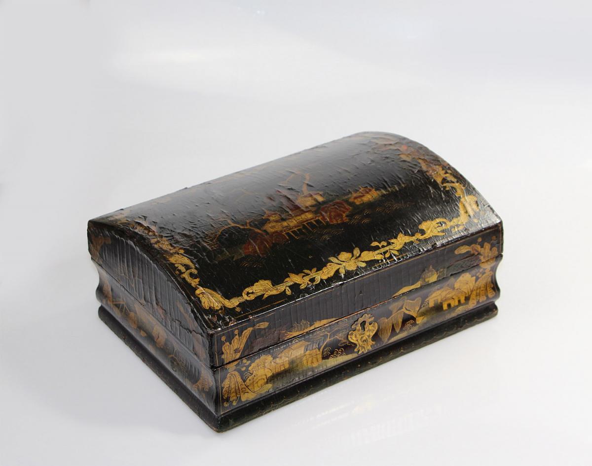 Coffret à Perruque D'époque Louis XV
