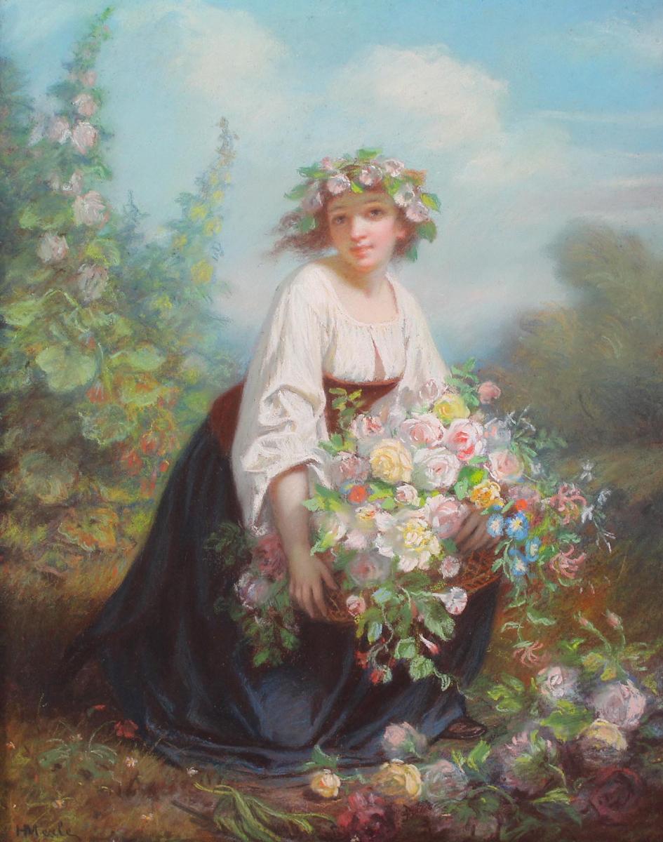 Hugues Merle (1823-1881)