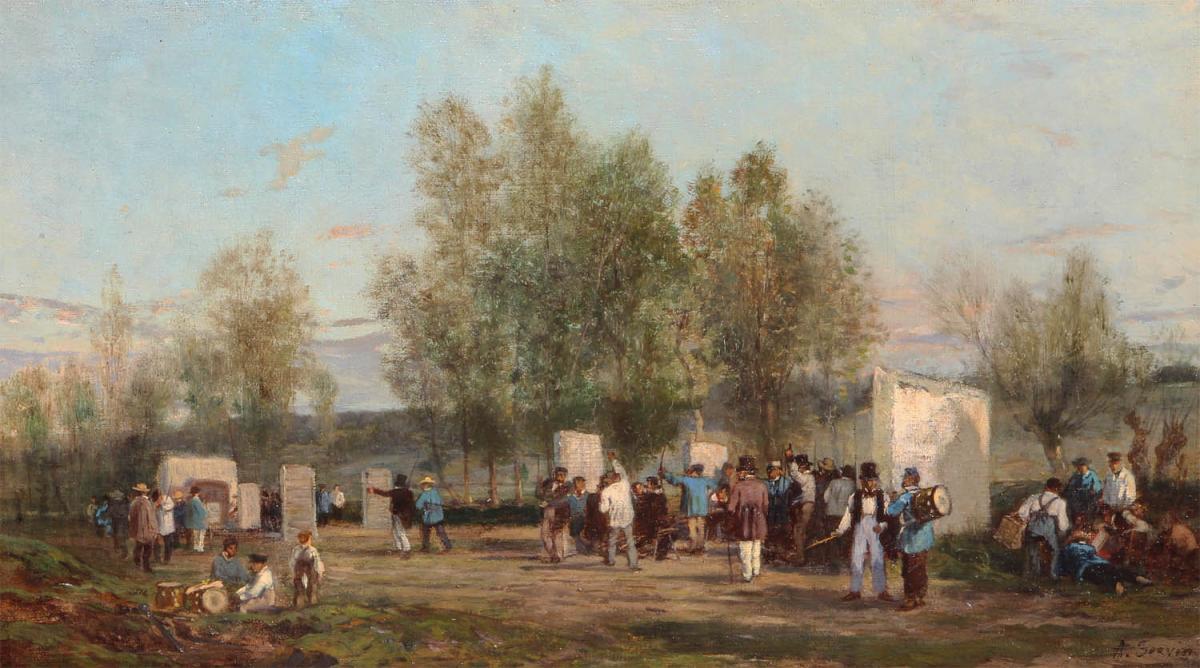 Amédée Elie Servin (1829-1884)