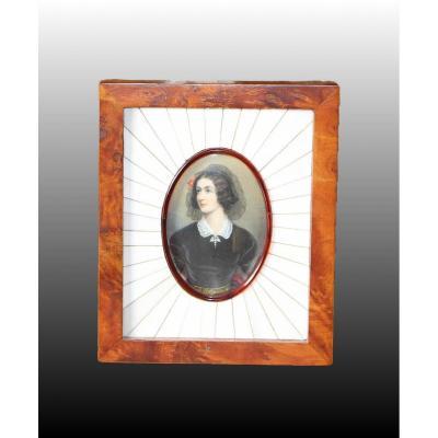 Portrait  De Lola Montez (1821- 1861)