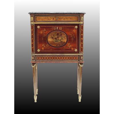 Secrétaire En Cabinet D'époque Louis XVI