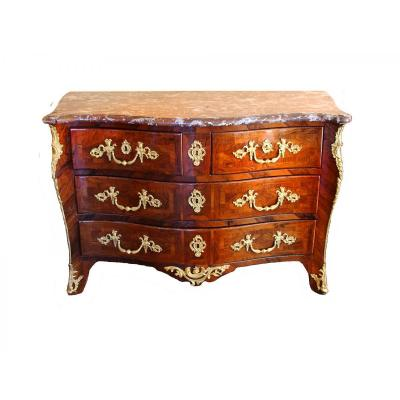 Commode D'époque Louis XV, Estampillée, Mathieu Criaerd