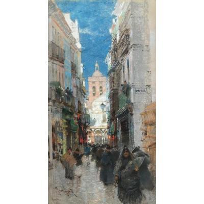 Frank Hind, Artiste Britannique  (actif  De 1884 – 1904)