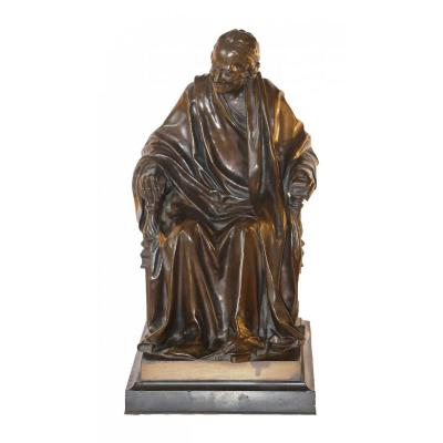 Voltaire Assis, After Jean Antoine Houdon (1741-1828)