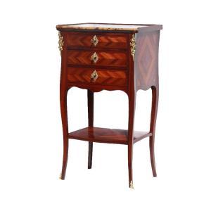 Table De Salon En Chiffonnière D'époque Louis XV