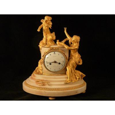 Pendule D'époque Louis XVI Signée Robin