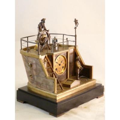 Quarter Deck Clock By Guilmet N ° 1412