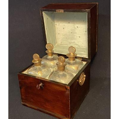 "English Box ""liquor Cabinet"" Early 19th"