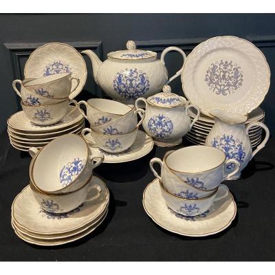 "BERNARDAUD Limoges ""Louis XIII"". Service à thé / café"