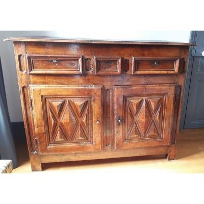 Louis XIII 17th Century Walnut Sideboard
