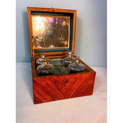 Louis XV Period Marquetry Scent Box (perfume Cellar)